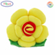 E843 Colorful Rose Flower Shape Throw Cushion Lumbar Pillow Wedding Gift Flower Shaped Cushion