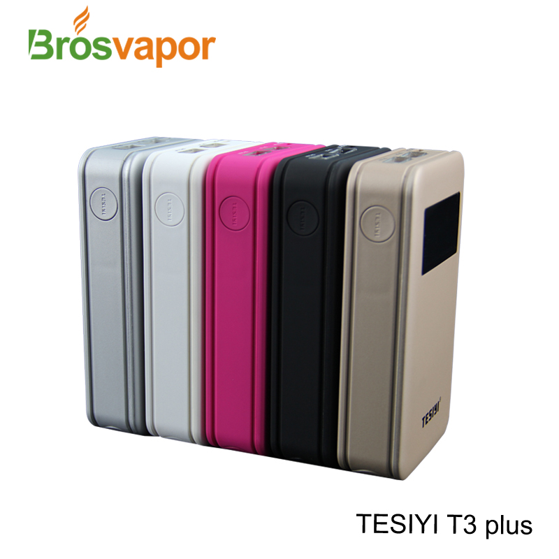 Hot sale TESIYI charger T3 plus 3x18650 power battery charger power bank