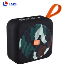 <span class=keywords><strong>T</strong></span> & G-505 Portable Mini Square Nirkabel Tahan Air Menangani Kain Bluetooth Super Bass Speaker Musik dengan FM Radio Bt Speaker