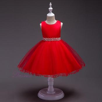 bf0ac03716 49ED cute 3-12 year old girl dress plaid dress girls puffy tutu dress