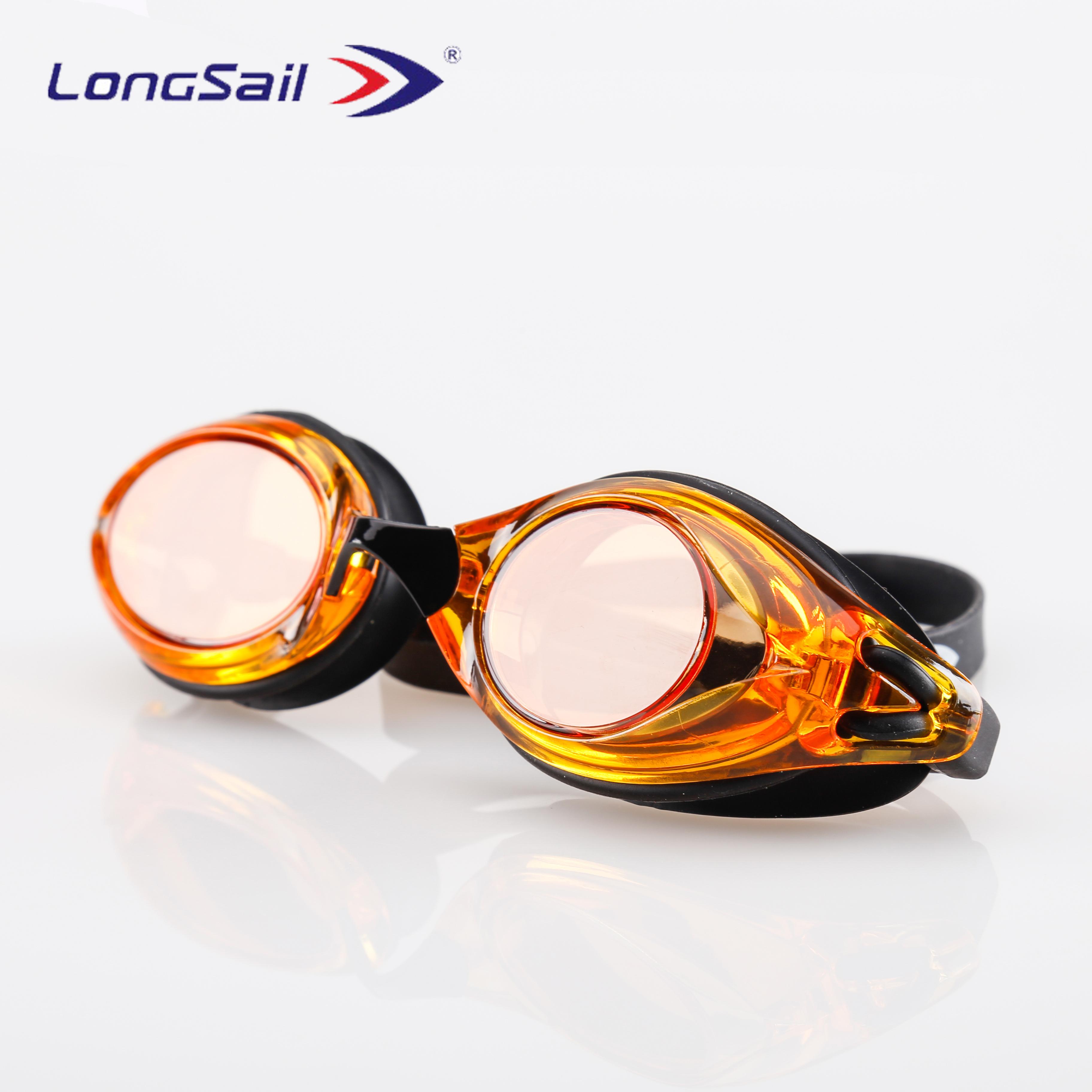 5fd6dc5c6ba Electroplated Adult Waterproof No Leak UV PC Anti Fog Swimming Goggles  Prescription