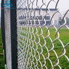 High security diamond shape used chain link fence panels