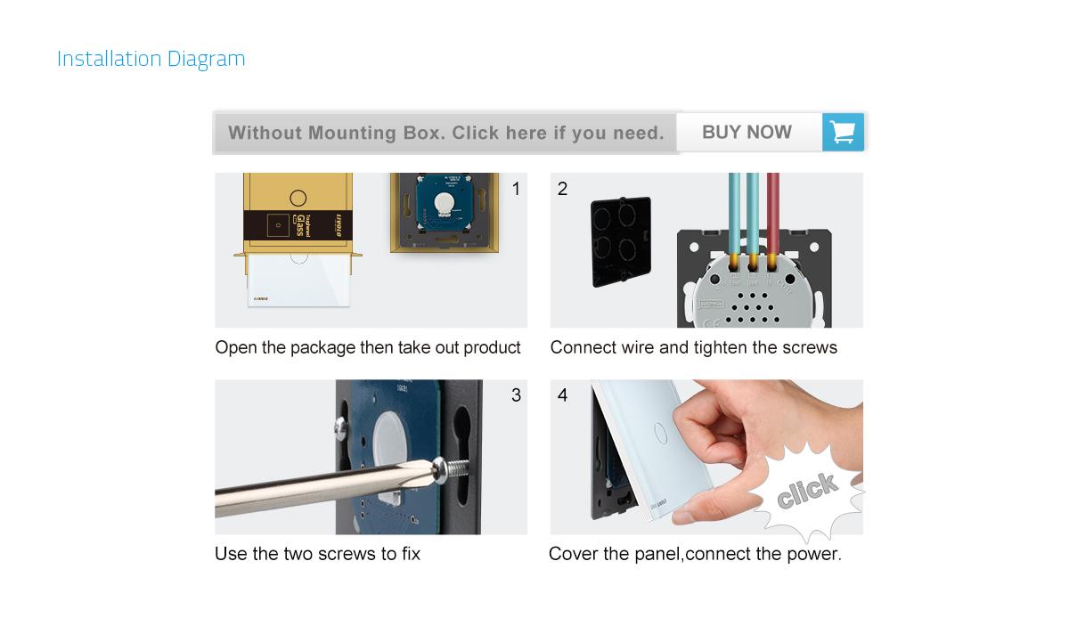 Großartig Wie Man Elektrische Schalter Installiert Bilder ...