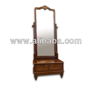 Teak Wood Bedroom Dressing Table (No.9) ( Size 42 X 65 X