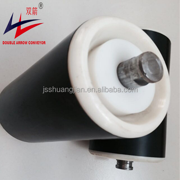 hot sale anti- wear and anti-corrosion HDPE plastic conveyor idler roller