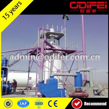 Multifunctional oil filter machine 95%high oil put rate transformer oil purifier tyre recycling plant