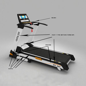 The Best China time sports treadmill with factory price