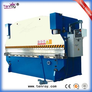Tenroy easy maintenance 300t electrical bending machine,precision steel sheet press break,cnc hydraulic metal plate press brake