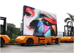 China LCF P10 led advertising vehicle and display truck truck mounted display/Mobile LED Billboard/truck Billboard advertising