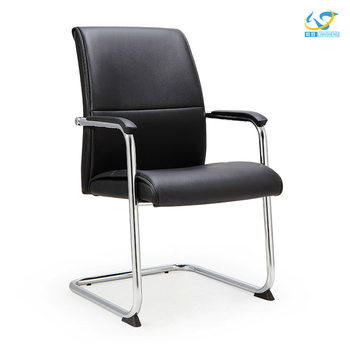 High Quality Middle Back Office Meeting Chair Without Wheels Conference  Room Chairs For Visit Chair