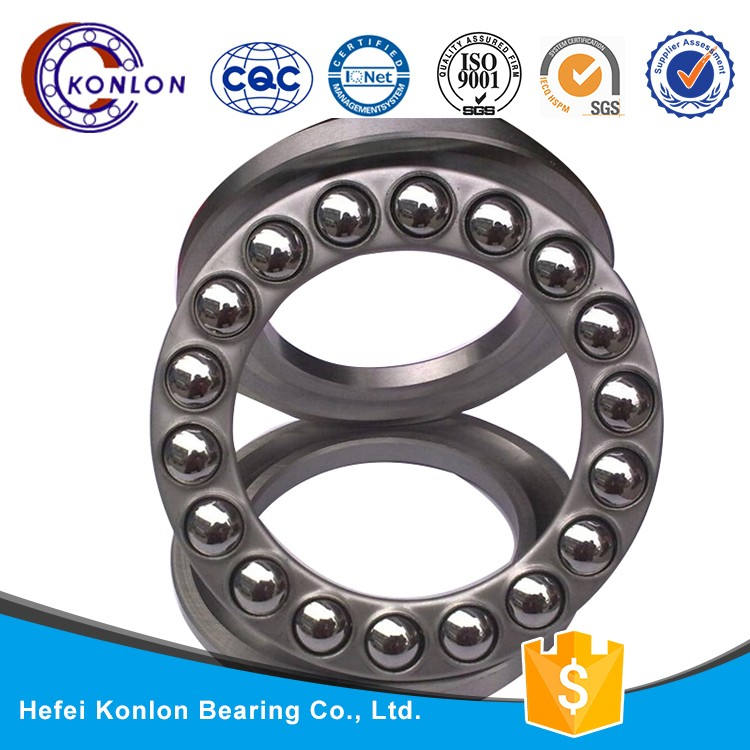 51315 Single Direction Load Weight Thrust Ball Bearing