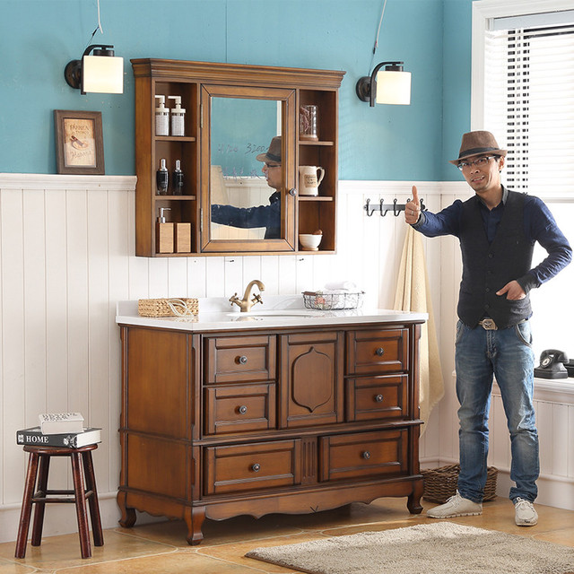 Buy Cheap China antique cabinet bathroom Products, Find China ...