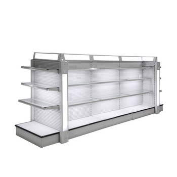 Wholesale 99 Cent Store Items Market Shelf Rack Shop Glass Cosmetic