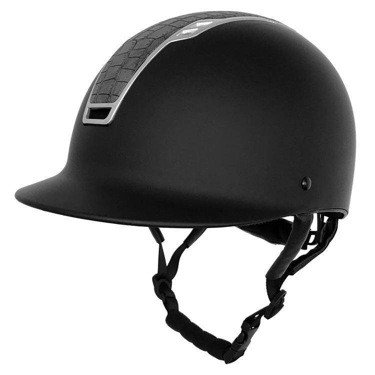 AU-H08-Crocodile-Style-Western-Equestrian-Helmet