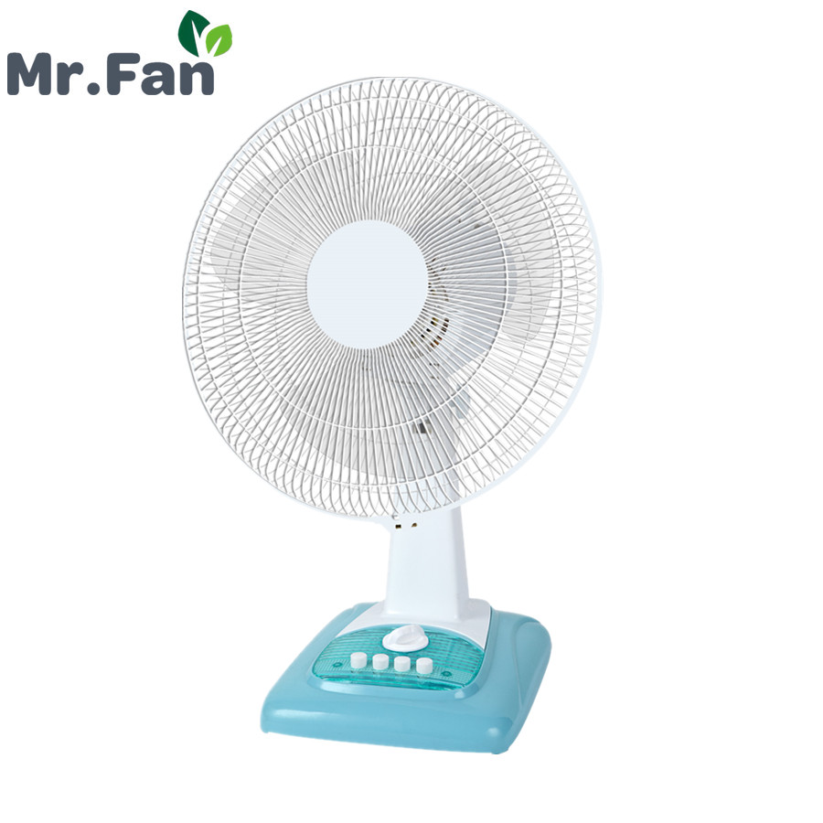 Low Power Consumption 16 inch Table Desk Fan with 3-Speed and 1 hour timer