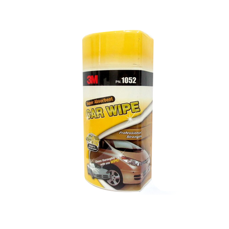 Glass cleaning wet wipes for cars and auto wet wipes
