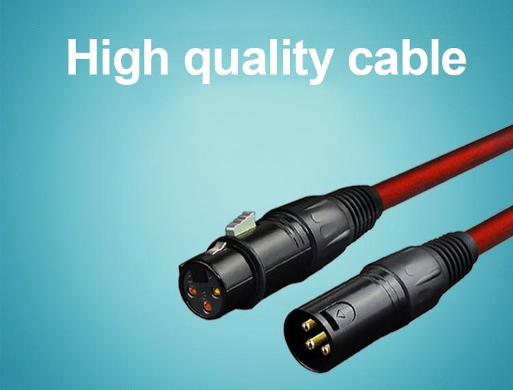High Quality 3pin Xlr Male To 3pin Xlr Female Cable Usb Male To Xlr ...