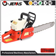 Passed ISO certificate 7800 78cc gasonline mini chain saw stone cutting machine
