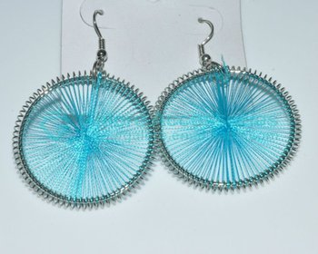Simple Cheap Turquoise Thread Earring Jewelry Buy Turquoise