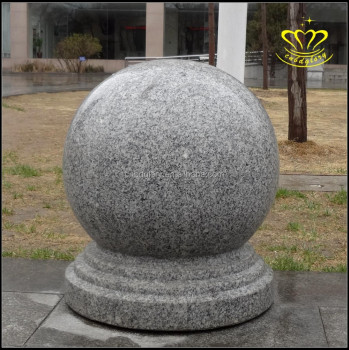 Outdoors decor balls series natural sesame white color for Large garden stones for sale