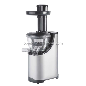 Low rpm masticating stainless steel slow juicer