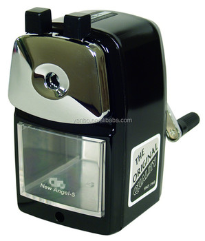 New Angel 5 Metal Pencil Sharpener Gift Promotion Clic Desk Office And School
