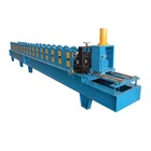 Chain Transmission Galvanized Shutter Door Guide Rail Roll Forming Machine