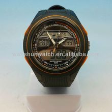5 ATM water resistant digital sport dual time zone watch