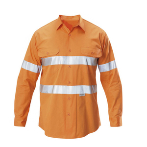Industrial Uniform for Mechanic Reflective Work Shirt