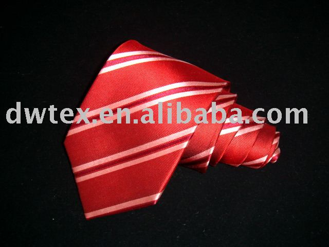 100% Silk tie woven fashion custom silk necktie