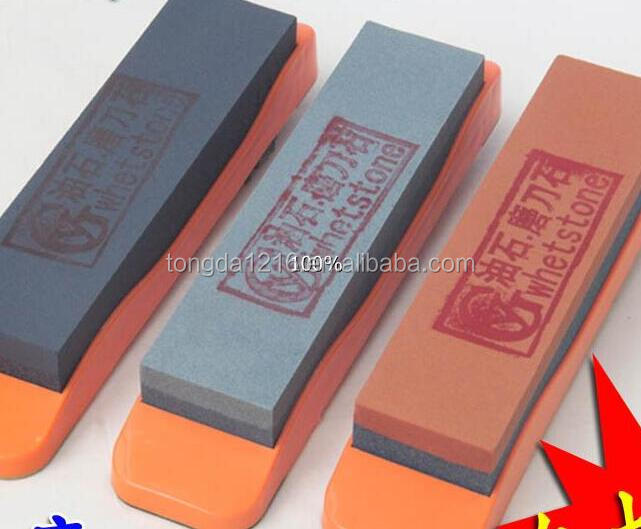 Different Size whetstone oil stone/ abrasive/ grain whetstone with holder