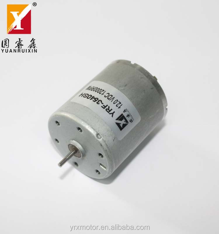 10000rpm High Speed Electric Generator Small Dc Motor For