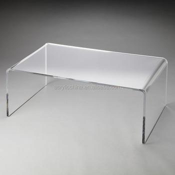 Wohnzimmer Plexiglas Konsole Eitelkeit Schreibtisch Möbel Klaren