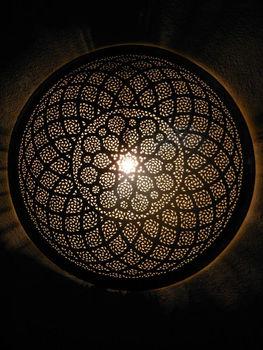 Moroccan brass wall lightfine cut rose patternsconce moroccan arts moroccan brass wall light fine cut rose pattern sconce moroccan arts and crafts aloadofball Choice Image