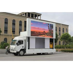 mobile tv panel P10 adversiting big screen outdoor led display