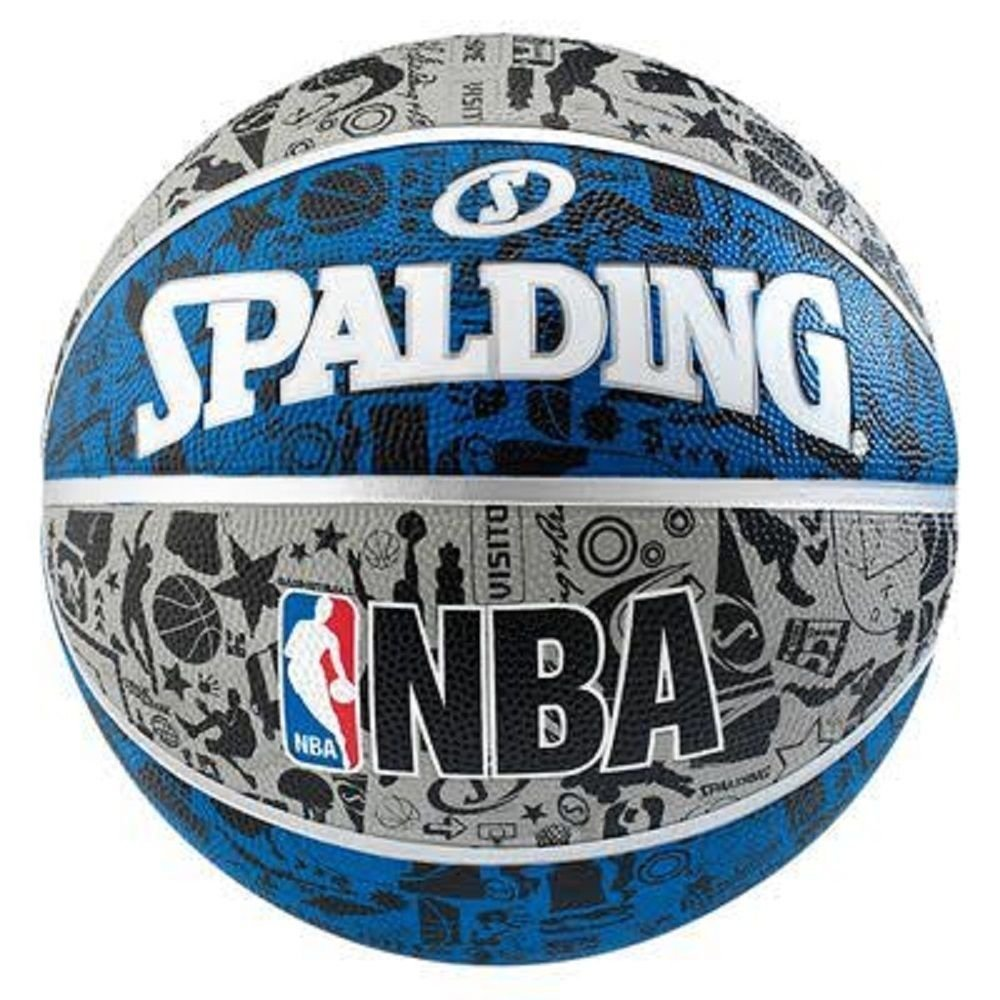 NBA Graffiti Basketball Ball Spalding Official Game Basketball Sports Size-7