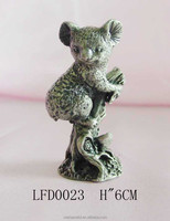Model sculpture crafts koala animal figurines toy for home decoration