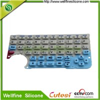 Customized Silicone Rubber Keypad Button and Computer Keyboard