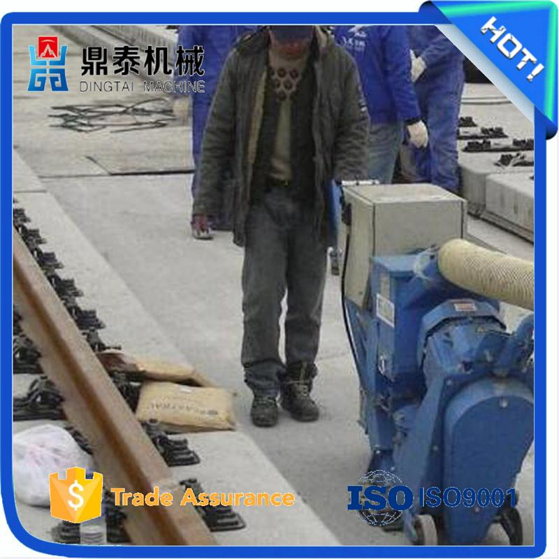 Used on aircraft carrier decks road surface shot blasting machine, movable road shot blasting machine for steel