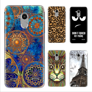 New Brand Colorful TPU Back Cover Silicone Phone Case For Zte Blade V7 Lite