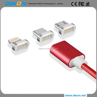Magnetic Cable USB C Plug For USB Type C & Micro USB Cable Magnetic Charger Cable For iphone 5 6 7 Plus