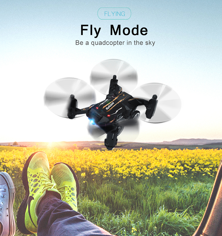 3. SBEGO_132_Black_Mini_Flying_Car_Drone_Mini_Pocket_Drone