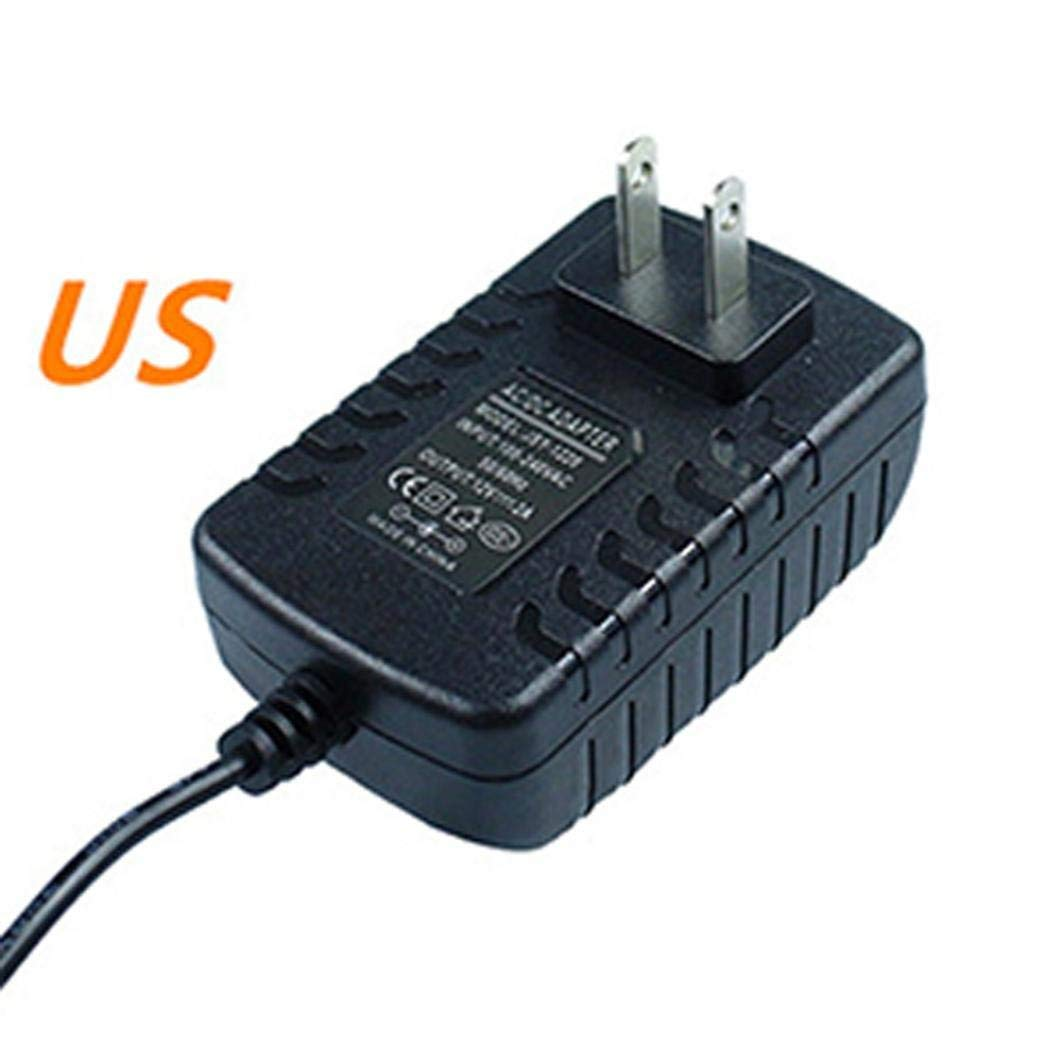 DJI tello 12V3A Power Adapter DC Header DC Power Adapter Charger for DJI Mavic Tello Multi Battery Charger Hub (US Regulation) (Black)