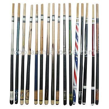 high quality and best price snooker and pool Cues