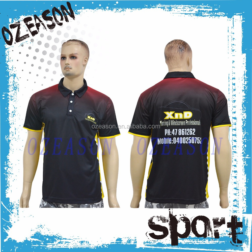 OEM Custom Men Short Sleeve Golf Apparels Polo Shirt 100% Cotton