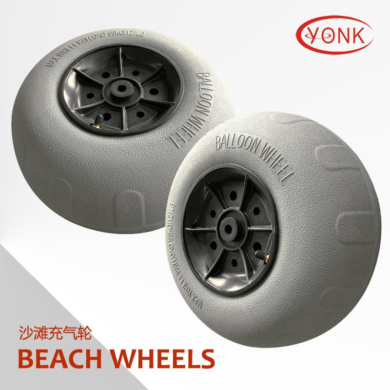 Алюминиевая тележка пляжа складывая тележки пляжа тележки рыболовной тележки с Yonk надувая колеса шарика