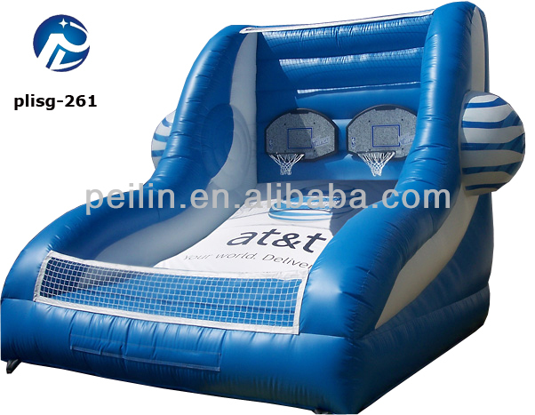 fabulous inflatable basket ball, high quality inflatable sport with EN14960