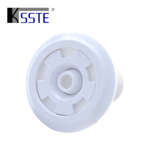 wholesale price swimming pool equipment white color ABS massage nozzle