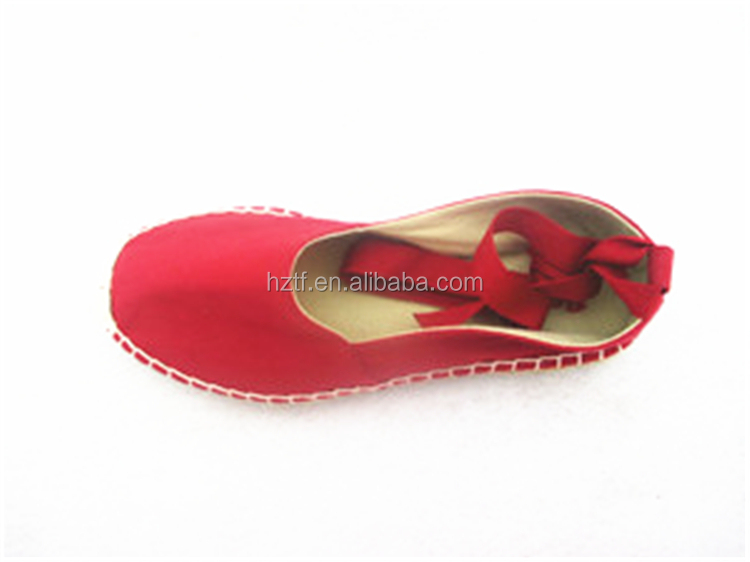 High quality hot sale import stylish woman canvas shoe