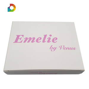 New Design 300 gsm paper box packaging custom cardboard boxes logo printed paper box for gifts